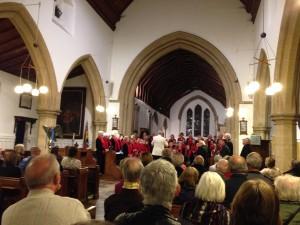 West Malling Community Choir 2014