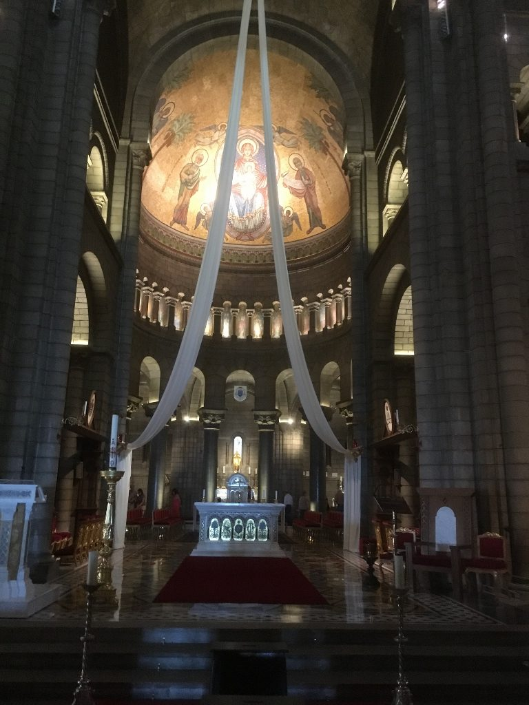 Monaco Cathedral Interior