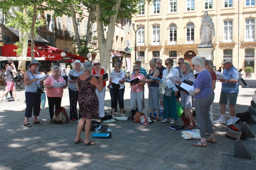 Aix-en Provence Street Concert