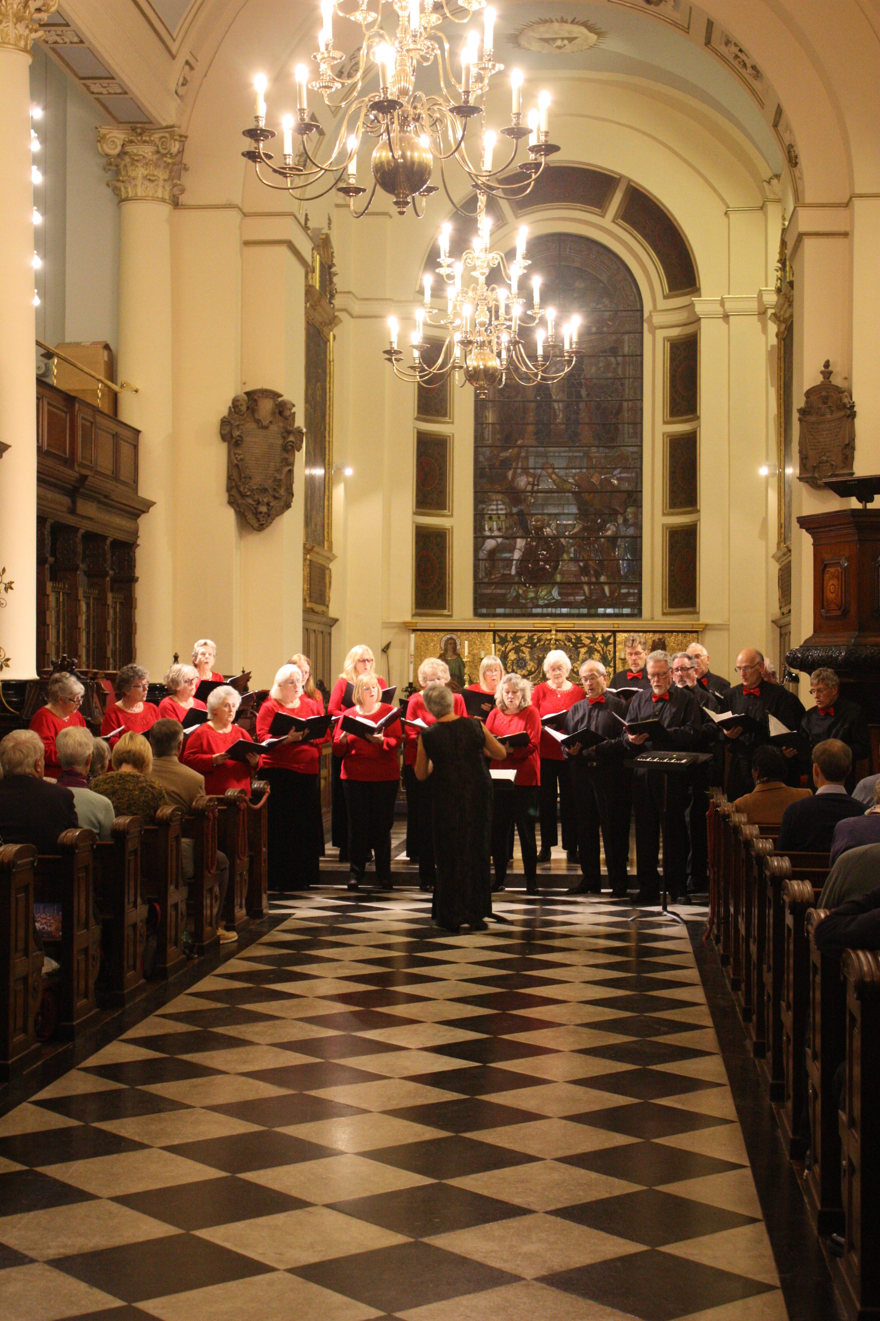 Choir Rear Portrait