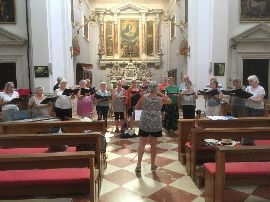 Dubrovnik Cathedral Rehearsal