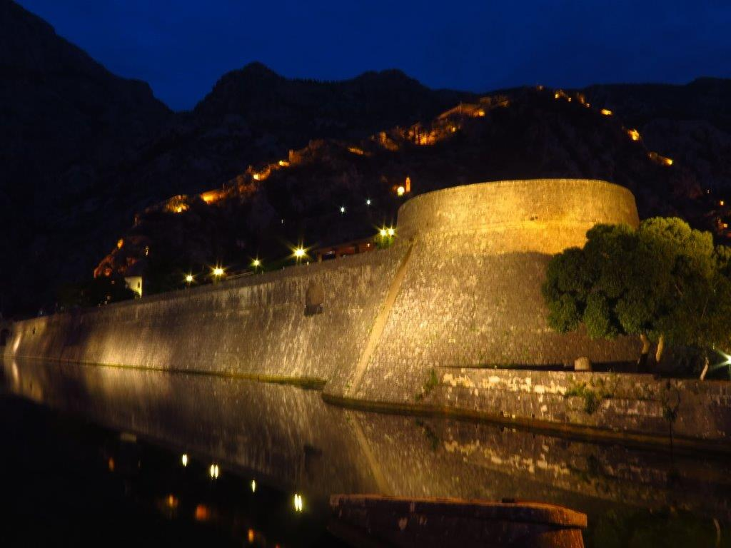 Kotor Walls by Night