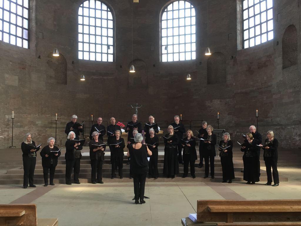 Trier Basilica Singing